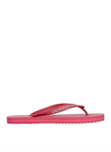 Calvin Klein Calvin Klein Plaj Terliği Kırmızı